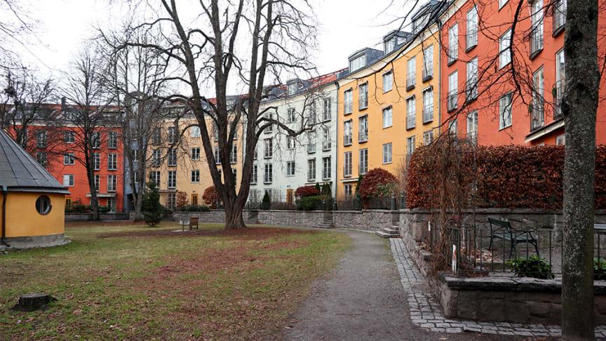 Kvarter från Sankt Eriksområdet i Stockholm.
