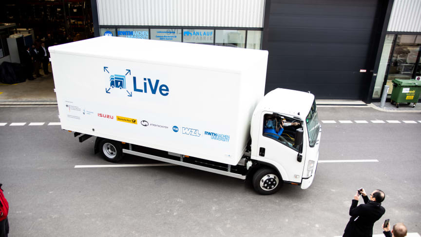 Electric truck transport picks up speed