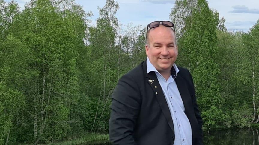 Patrik Ekman, koncern-VD.