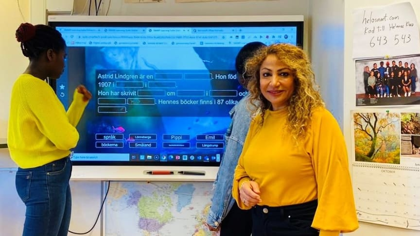 Distansundervisning med god kommunikation mellan elever och lärare – SMART Learning Suite Online