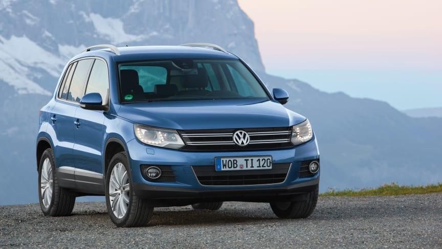 Nya Volkswagen Tiguan har Sverigepremiär i augusti
