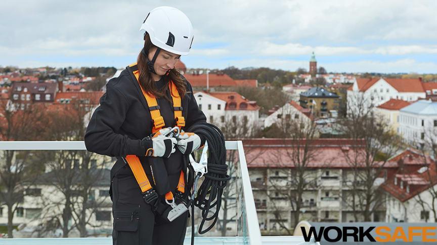 Uppdaterat sortiment för mer komfort och funktionalitet - Worksafe fallskydd
