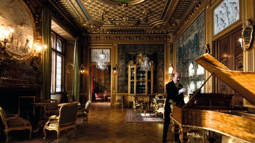 Hallwylska palatset – ny rikt illustrerad bok ges ut 16 maj.