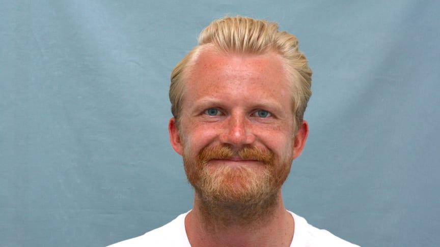 Björn Högberg, doktorand vid Institutionen för socialt arbete vid Umeå universitet. Foto: Ellinor Gustafsson.