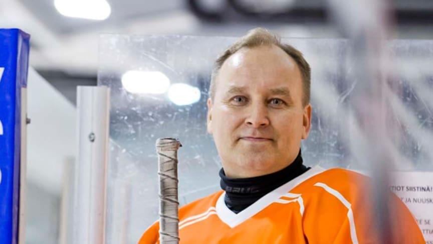 Juha Luostarinen on pitkän linjan Cramo Hockey Cup -peluri.