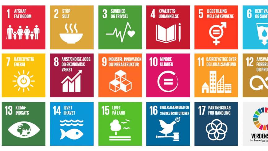 FN's 17 bæredygtige verdensmål har udviklet sig til vigtige pejlemærker for danske teknologivirksomheder og forskningsmiljøer.