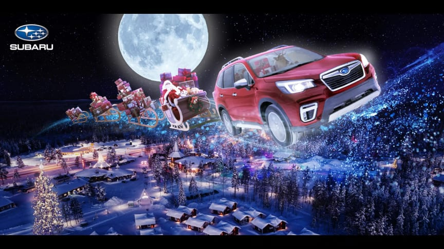 God Jul önskar Subaru Nordic