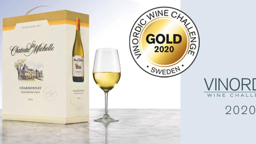 5409 Chateau Ste Michelle Chardonnay 2018, box 3 liter, 269 kr. - Finns på Systembolaget