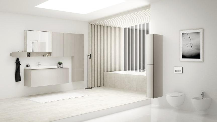 Största badrumslanseringen i Sverige - Geberit lanserar fem badrumsserier