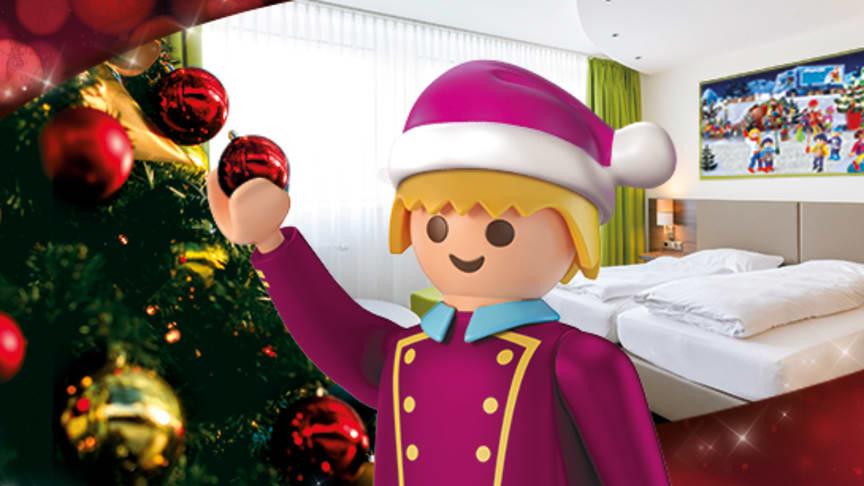 Neu: Winterzauber-Wochen im PLAYMOBIL-Hotel