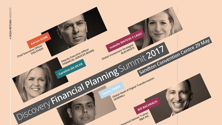 Discovery Financial Planning Summit 2017 speakers