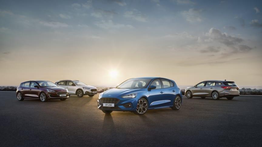 Mange elektrifiserte Ford-nyheter avdukes 2. april; blant annet nye Focus og Fiesta som EcoBoost hybrid