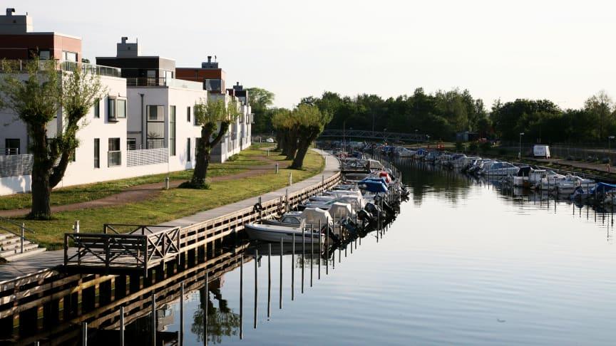 Skånska Lomma är årets bästa klimatanpassningskommun. Foto: Christian Almström, Lomma kommun.