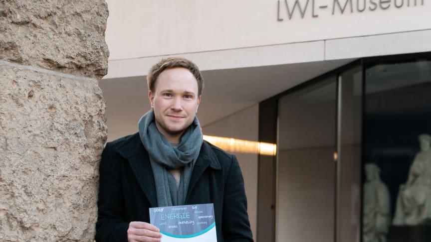 Stefan Jättkowski bekommt mit dem Energy Award von Westfalen Weser 1000 Euro für sein Forschungsprojekt.