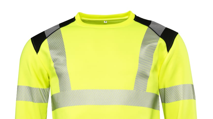 Sweatshirt Worksafe Unisex Perform HiVis Cl3