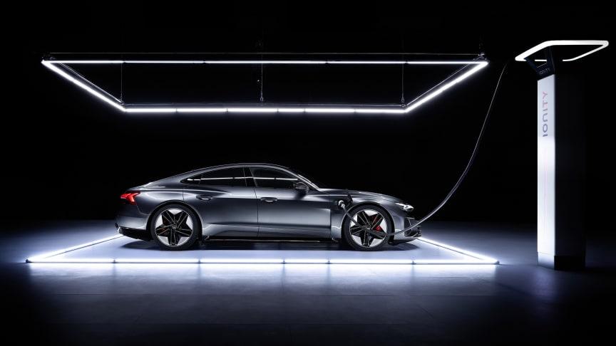 Världspremiär för Audi RS e-tron GT
