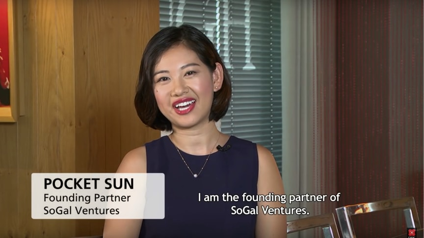 Pocket Sun from SoGal Ventures was one of our guests