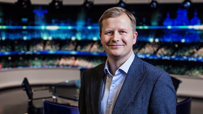 Vegard Klubbenes Drogseth, administrerende direktør i Viasat Norge.