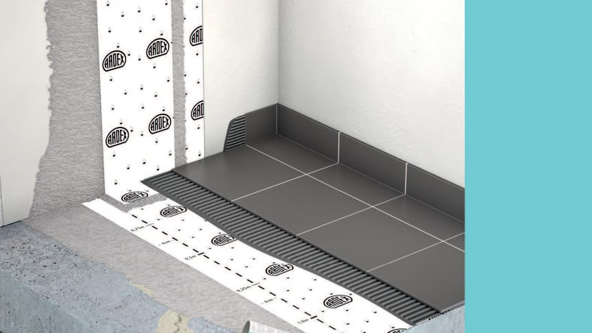 ARDEX konstruktioner för radonfritt boende.