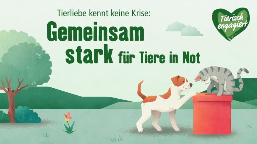 """""""Tierisch engagiert"""": Tierliebe kennt keine Krise"""