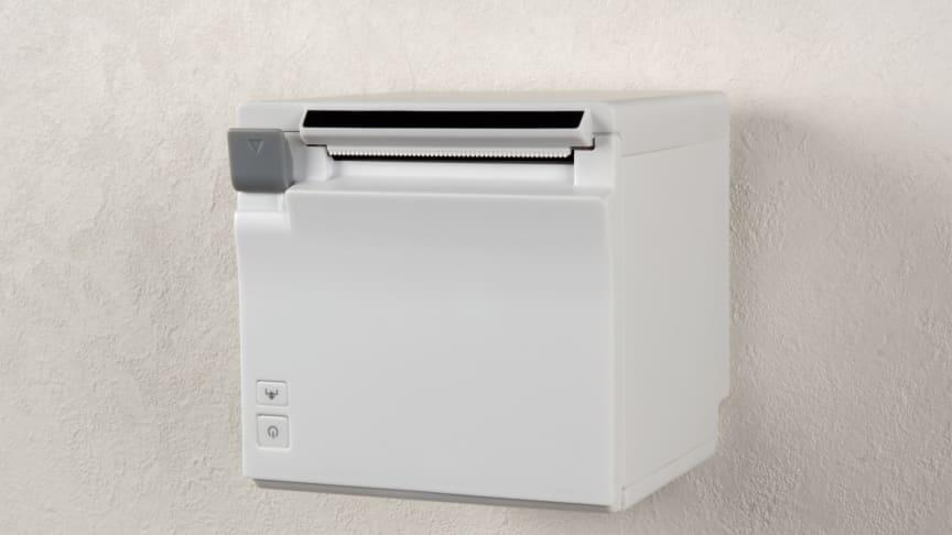Epson's latest TM-m30 desktop receipt printer