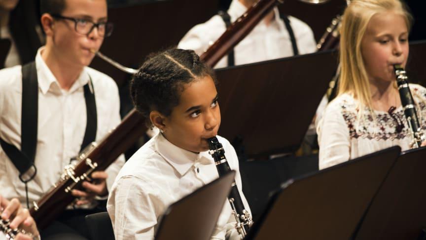 Unga musiker foto Anna Molander