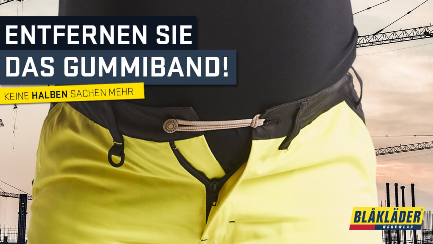 Blåkläder sucht Testpilotinnen für neue Arbeits-Umstandshose