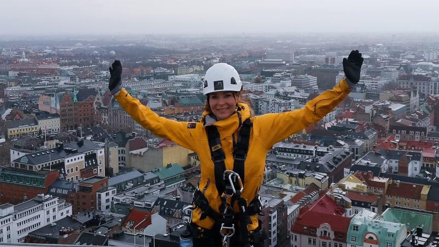 Renata Chlumska över Malmö