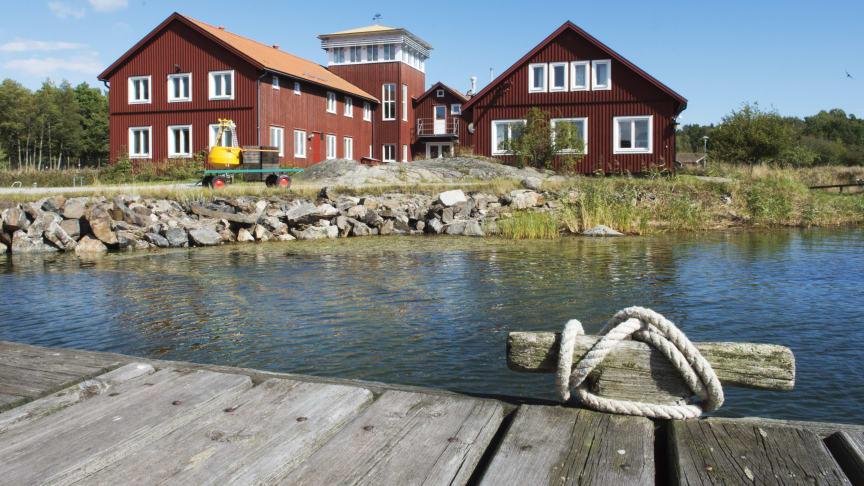 Stockholms universitets fältstation på Askö – Askölaboratoriet. Här bedrivs forskning om Östersjön.