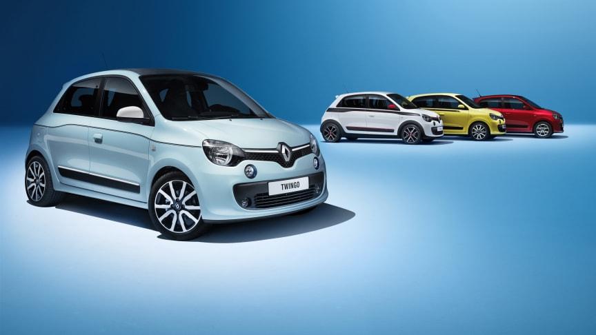 Ny 5 dørs Renault Twingo under 90.000 kroner