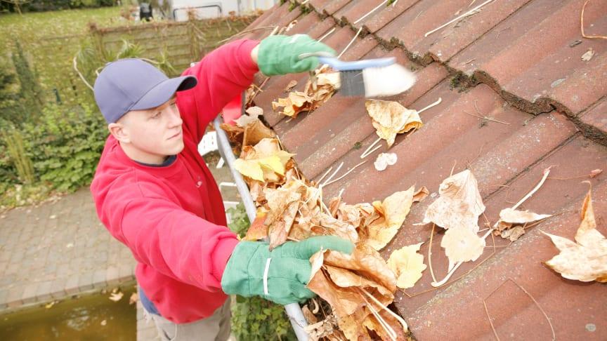 Wohngebäude: vor dem Winter das Haus checken