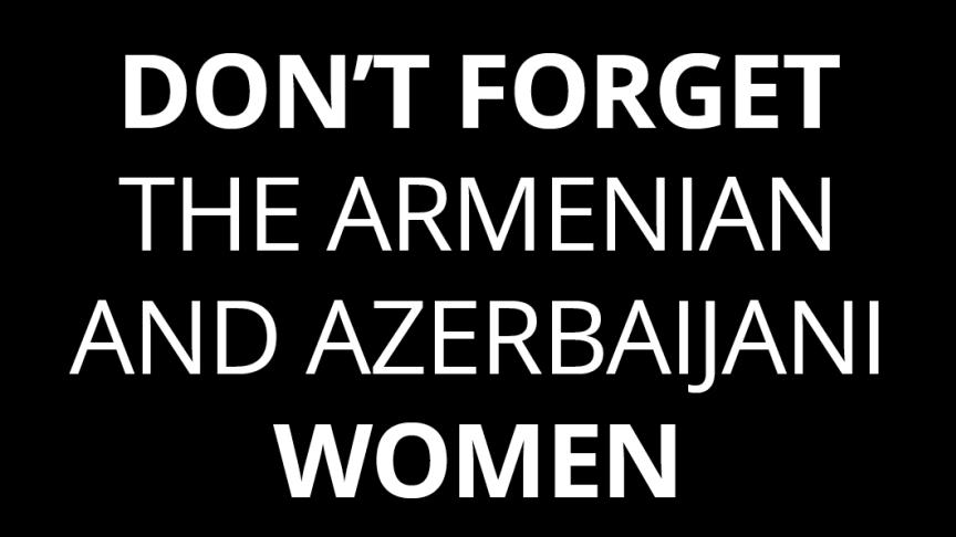 Utrymmet för bland annat kvinnorättsförsvarare krymper snabbt i konflikten kring Nagorno-Karabach