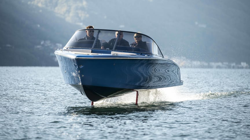 The flying boats return to Lago Maggiore after 100 years – and this time they're electric