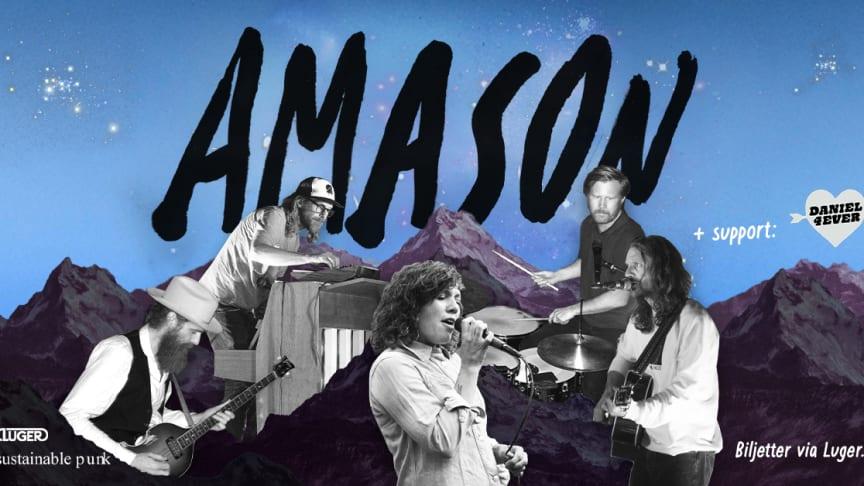 Amason ger sig ut på turné – släpper album senare i höst