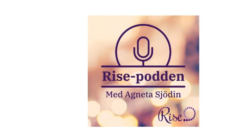 Rise lanserar tre nya avsnitt av Rise-podden i samarbete med Agneta Sjödin, om vuxna som utsatts för sexuella övergrepp på barn.