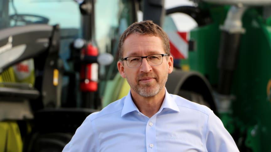 Hasse Ripa blir ny vd för Swedish Agro Machinery.