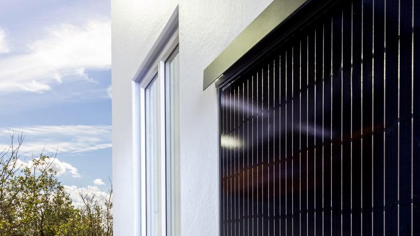 Yttervägg i betong ersätts med solpaneler