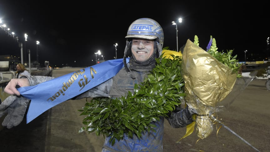 Carl Johan Jepson vann V75-Champion 2018