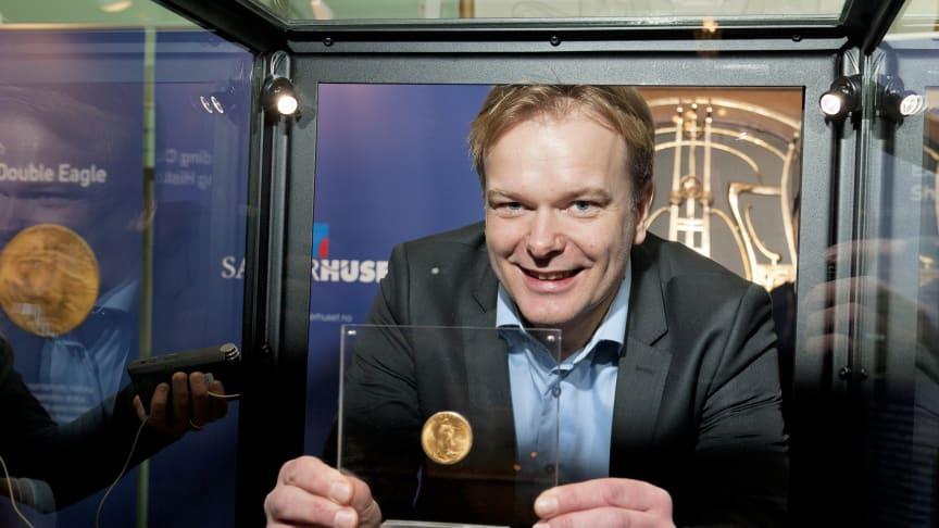 Verdens dyreste gullmynt kommer til Oslo