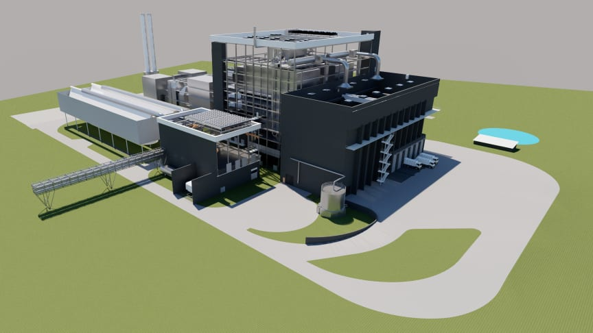 Die Ersatzbrennstoff-Verwertungsanlage EVA Jänschwalde ist in der Lage, bis zu 480.000 Tonnen Brennstoff im Jahr zu verwerten.