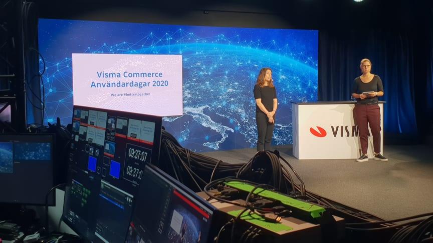 Vismas Hållbarhetspris delades ut på Visma Proceedos Användardagar 2020, som i år var ett digitalt event.