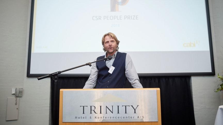 Logistikkompagniets Carsten Moberg tilbyder gratis foredrag om socialt ansvar.