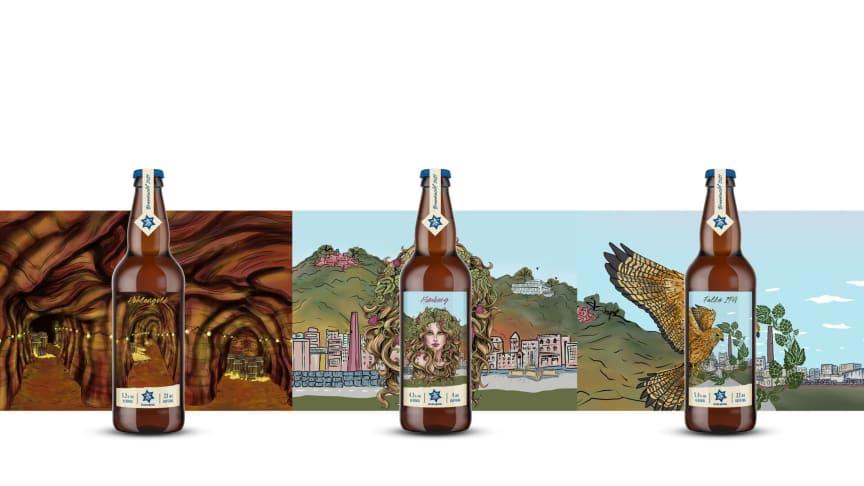 Die Karlsberg-Brauer:innen stellen wieder drei besondere Biere vor. Foto: Karlsberg