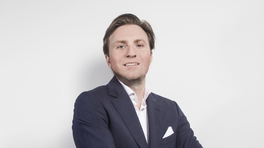 Alexander Provins has been appointed Sales Director for Blueair Europe Region
