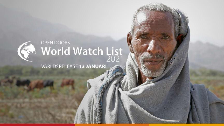 World Watch List är en årlig undersökning från Open Doors, som visar i vilka 50 länder som förföljelsen mot kristna är som störst.
