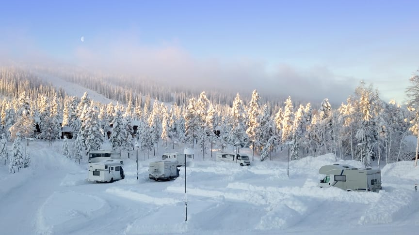 Husbilstrenden fortsätter: SkiStar Sälen utökar med 40 ställplatser för husbilar i Lindvallen