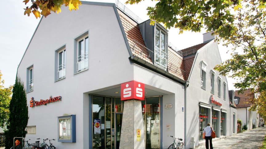 Die Filiale der Stadtsparkasse an der Neubiberger Straße 1 in Altperlach wird umgebaut.