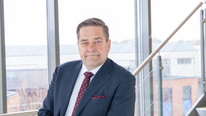 Heine Wang, koncernchef för Nokas.