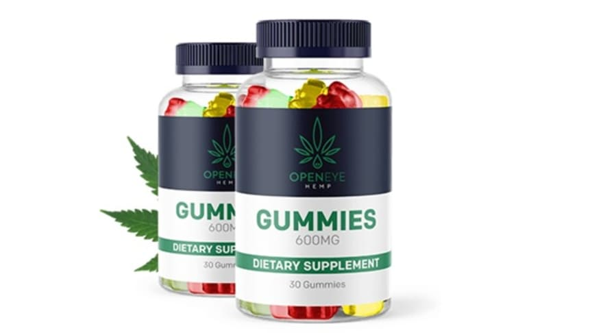 Open Eye CBD Gummies Reviews [Pros & Cons]: Scam or Real Price for Sale?