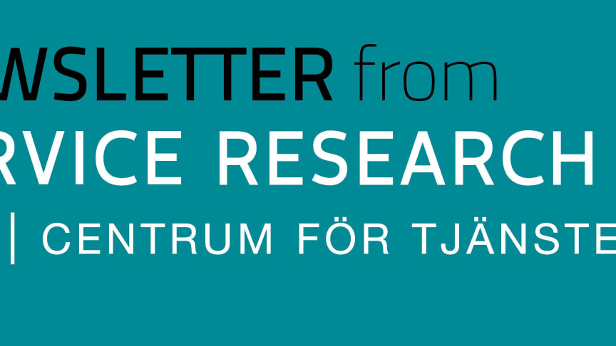 CTF Newsletter no 6, 2019, from CTF, Service Research Center at Karlstad University, Sweden